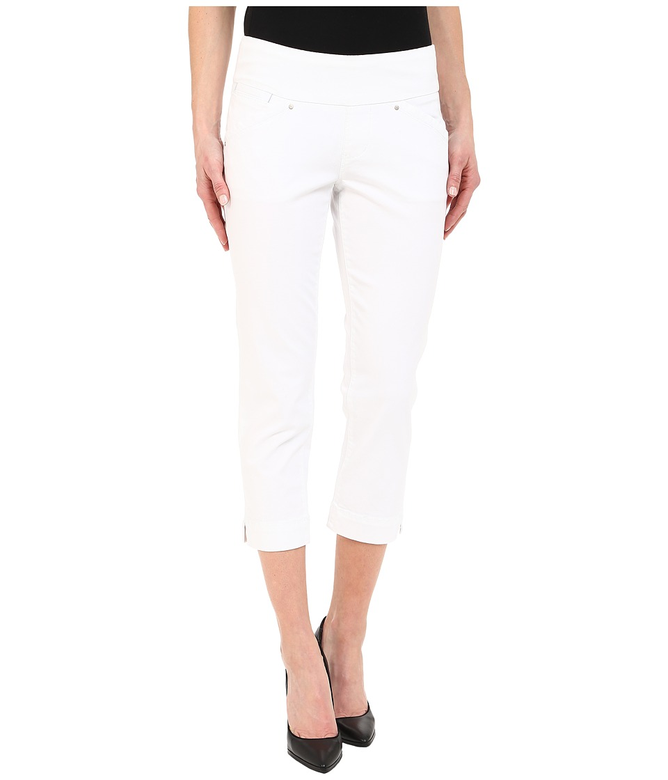 Jag Jeans Marion Crop in Bay Twill (White) Women
