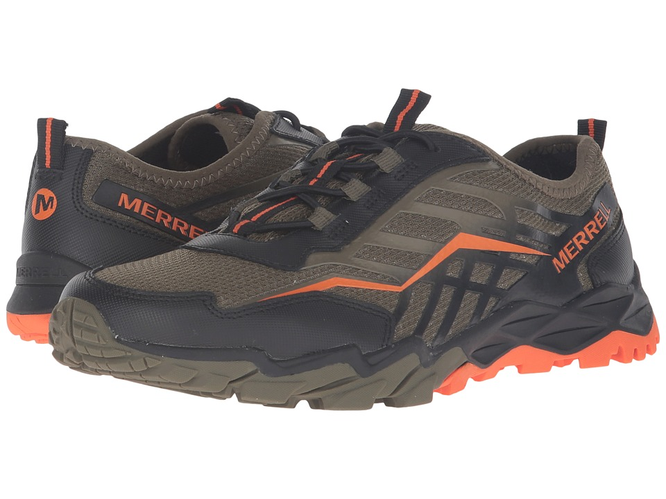 Merrell Kids - Hydro Run (Big Kid) (Olive/Black/Orange) Boys Shoes
