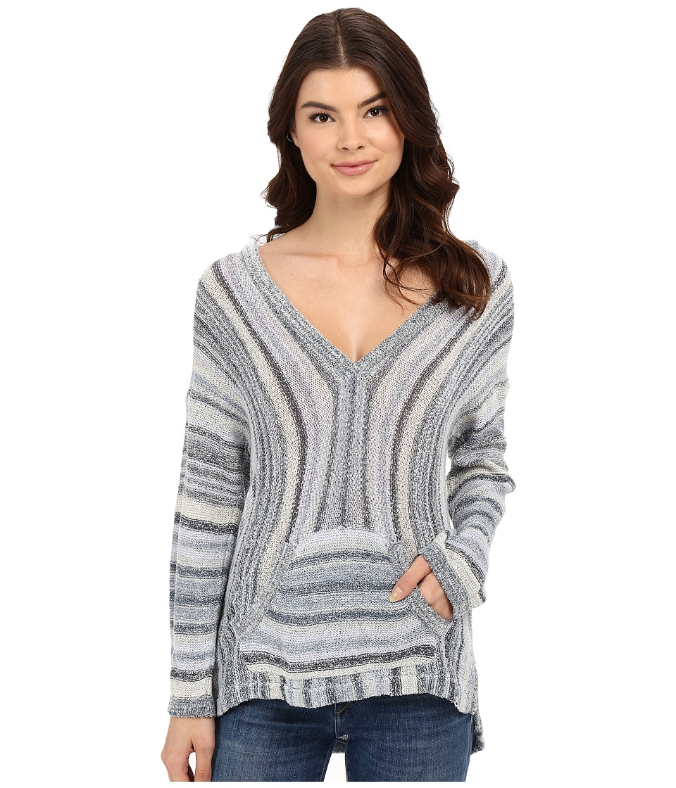 Billabong - Island Baja Sweater (Blue Rinse) Women's Sweater