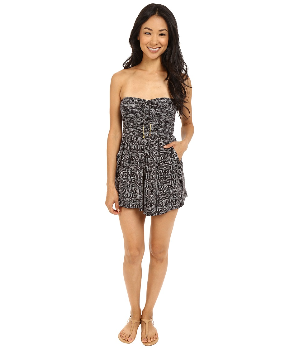 Billabong - Dream Away Romper (Off-Black) Women's Jumpsuit & Rompers One Piece