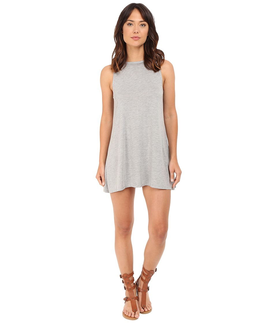 Billabong - Last Call Dress (Dark Athletic Grey) Women's Dress
