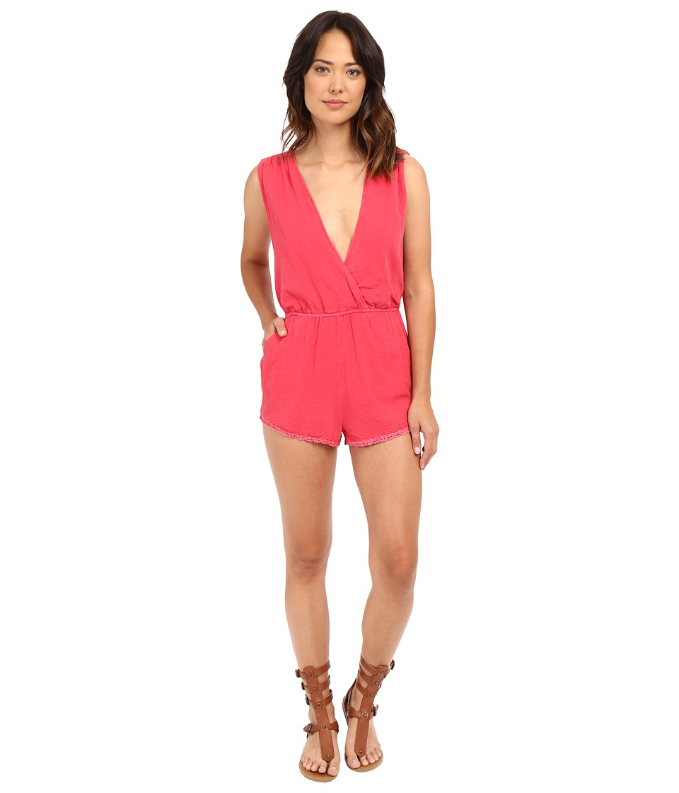 Billabong - Midsummer Tides Romper (Wild Berry) Women's Jumpsuit & Rompers One Piece