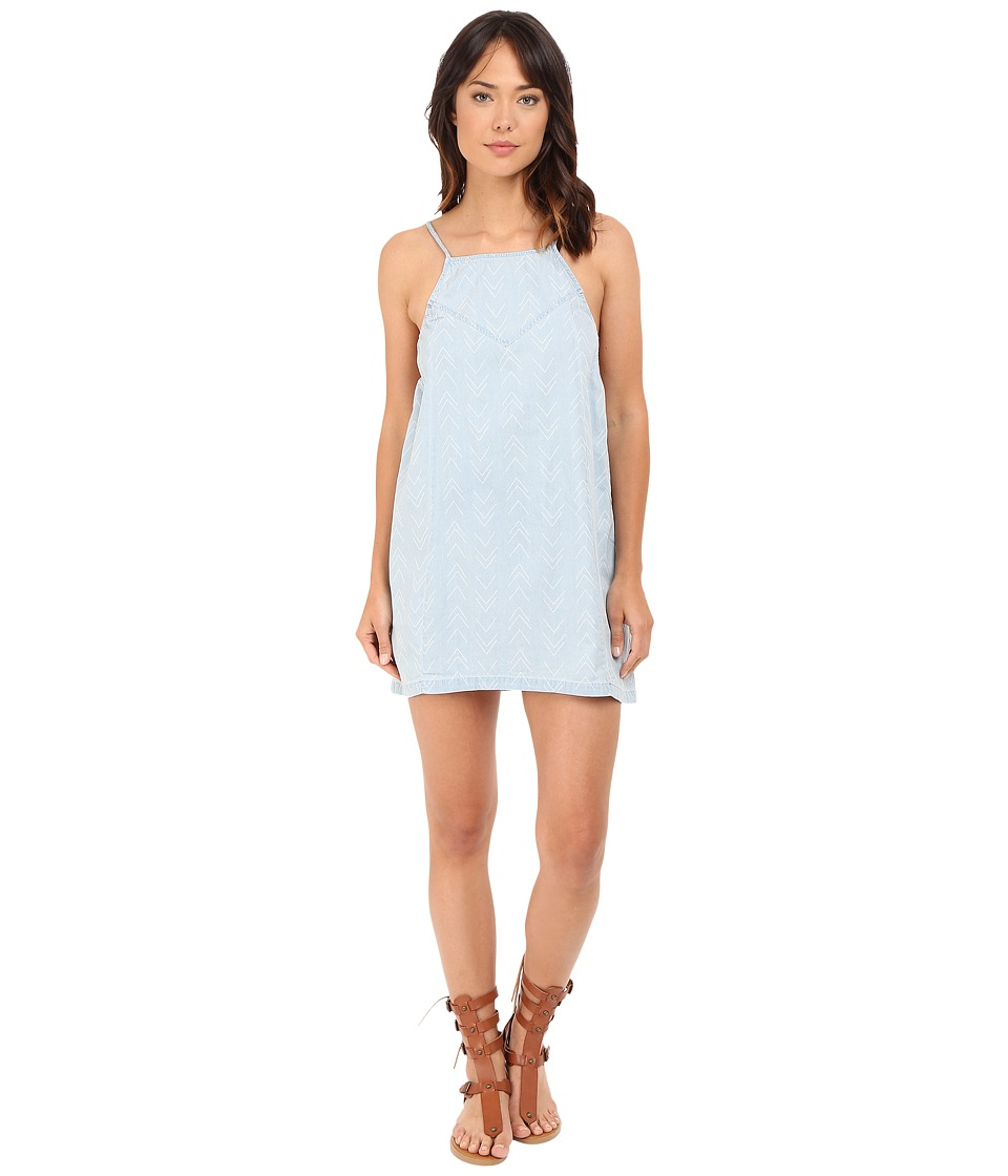 Billabong - Sun Swept Shores Dress (Blue Tide) Women's Dress