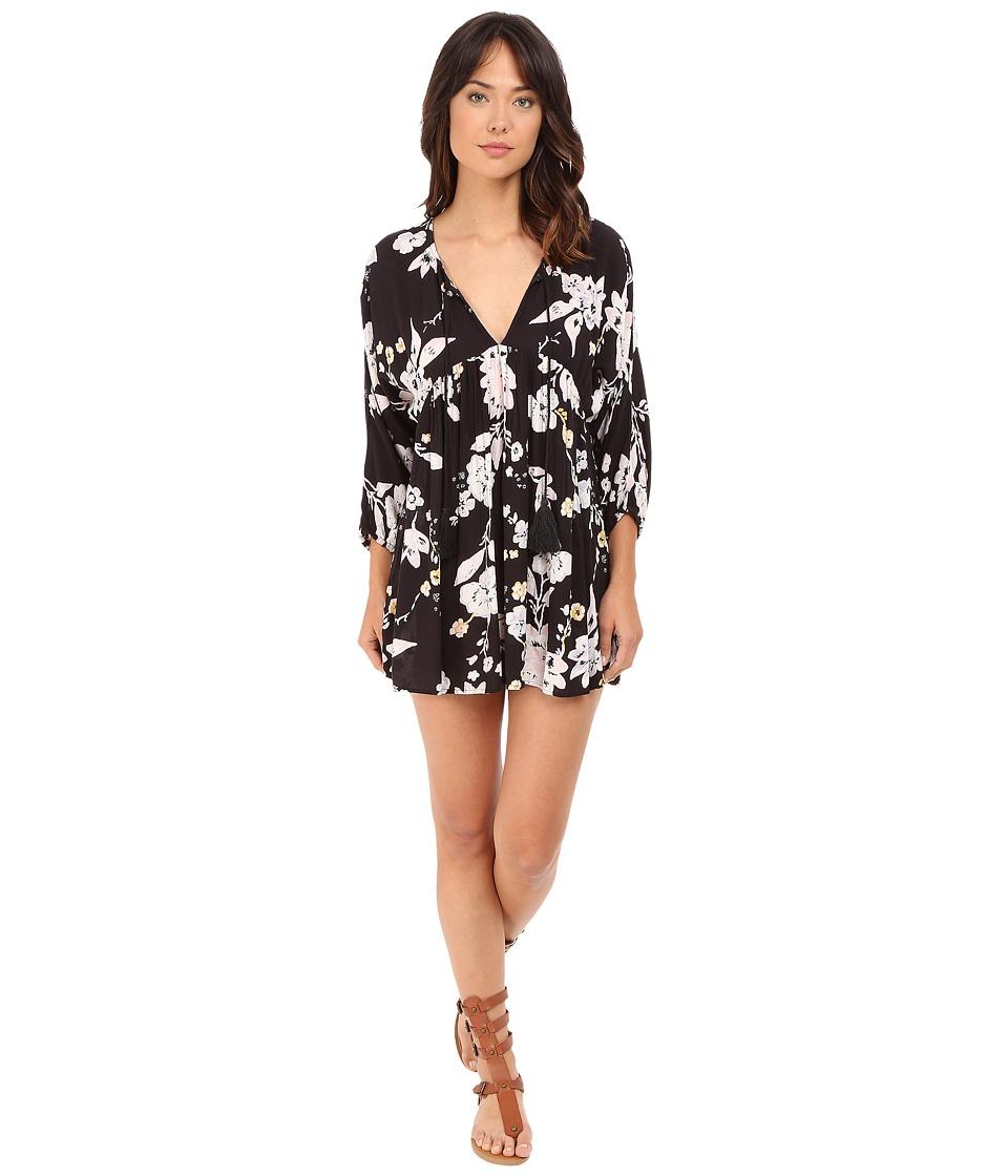 Billabong - Freedom Island Dress (Off-Black) Women's Dress