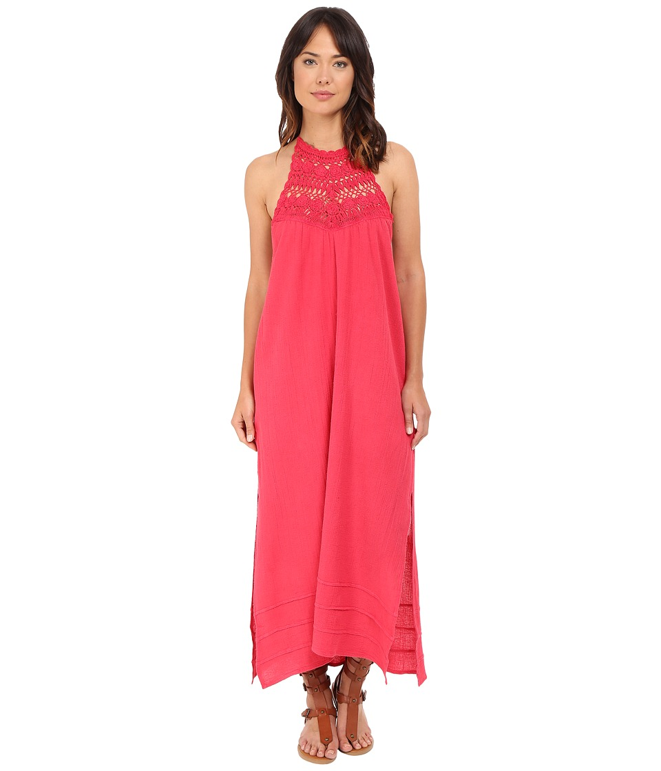Billabong - Midsummer Tides Maxi Dress (Wild Berry) Women's Dress