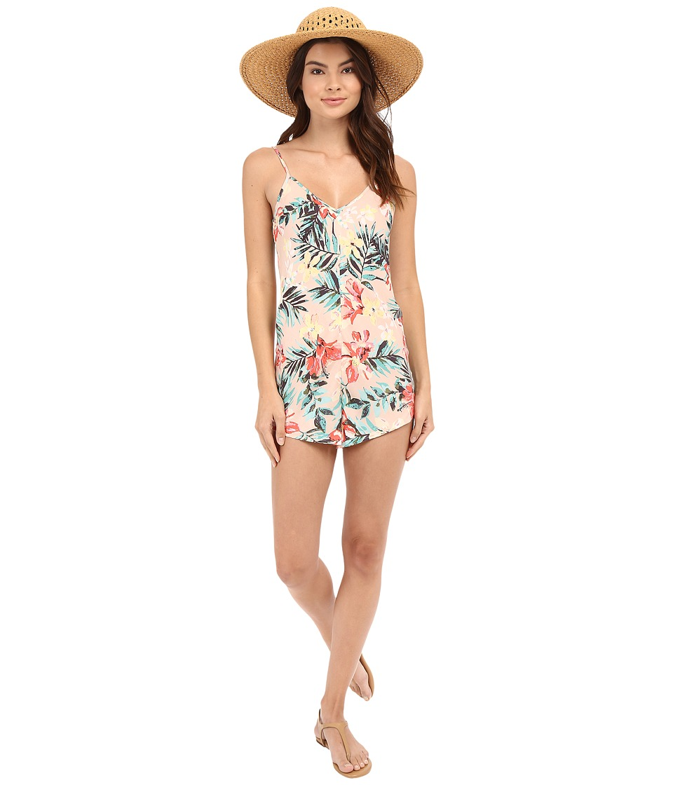 Billabong - Easy Does It Romper (Rose Dust) Women's Jumpsuit & Rompers One Piece