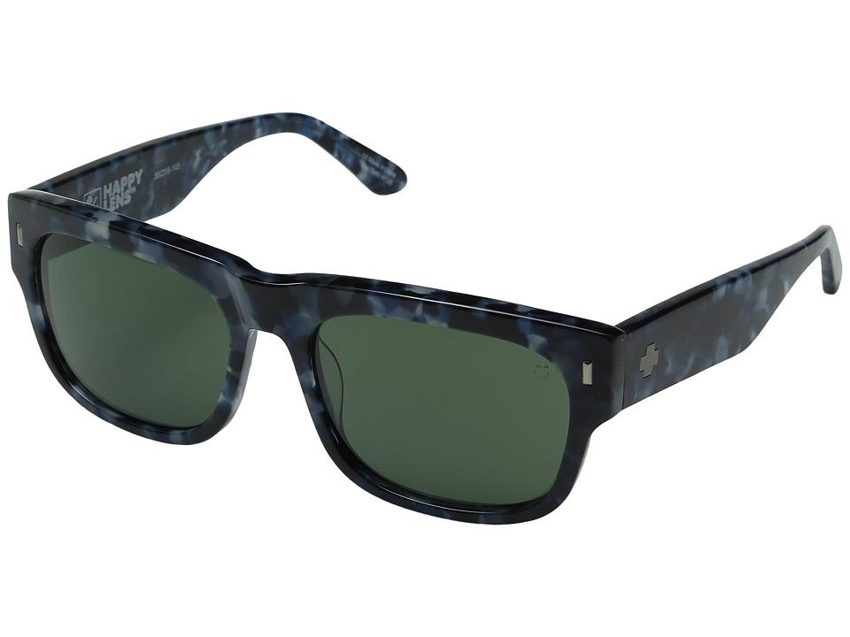 Spy Optic - Hennepin (Navy Camo Tort/Happy Gray Green) Sport Sunglasses