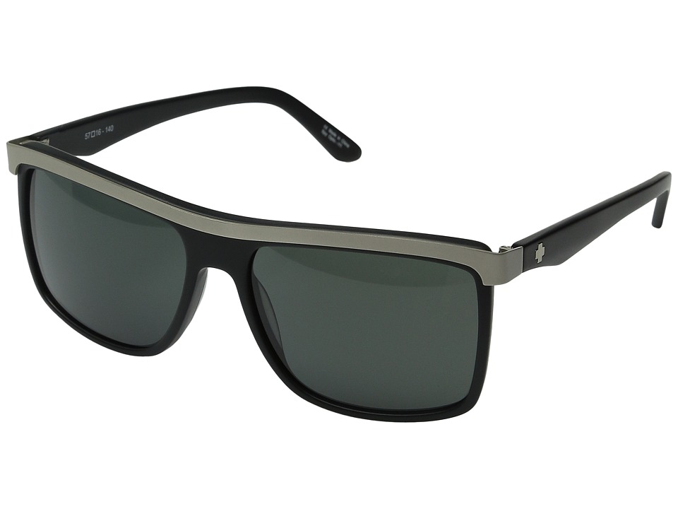Spy Optic - Fremont (Matte Black/Silver/Gray) Sport Sunglasses
