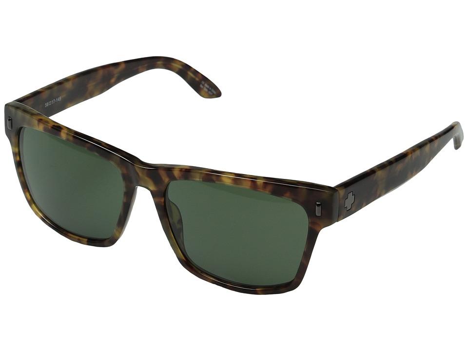Spy Optic - Haight (Desert Tort/Gray Green) Sport Sunglasses