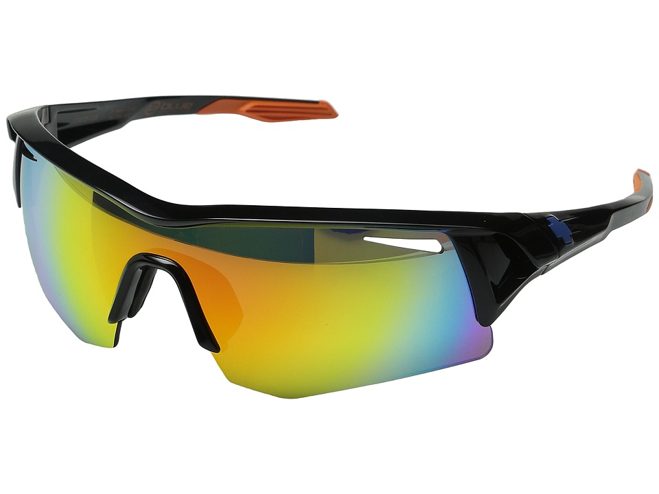 Spy Optic - Screw Team Blue (Bronze/Solid Orange Mirror) Sport Sunglasses
