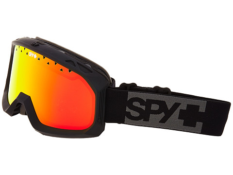 Spy Optic - Trevor Matte Black (Bronze/Red Spectra/Yellow) Goggles