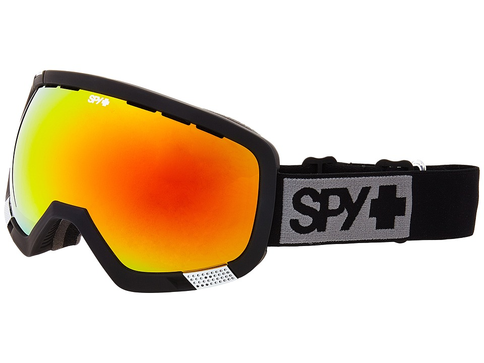Spy Optic - Platoon Mt Black (Bronze/Red Spectra/Persimmon Contact) Goggles