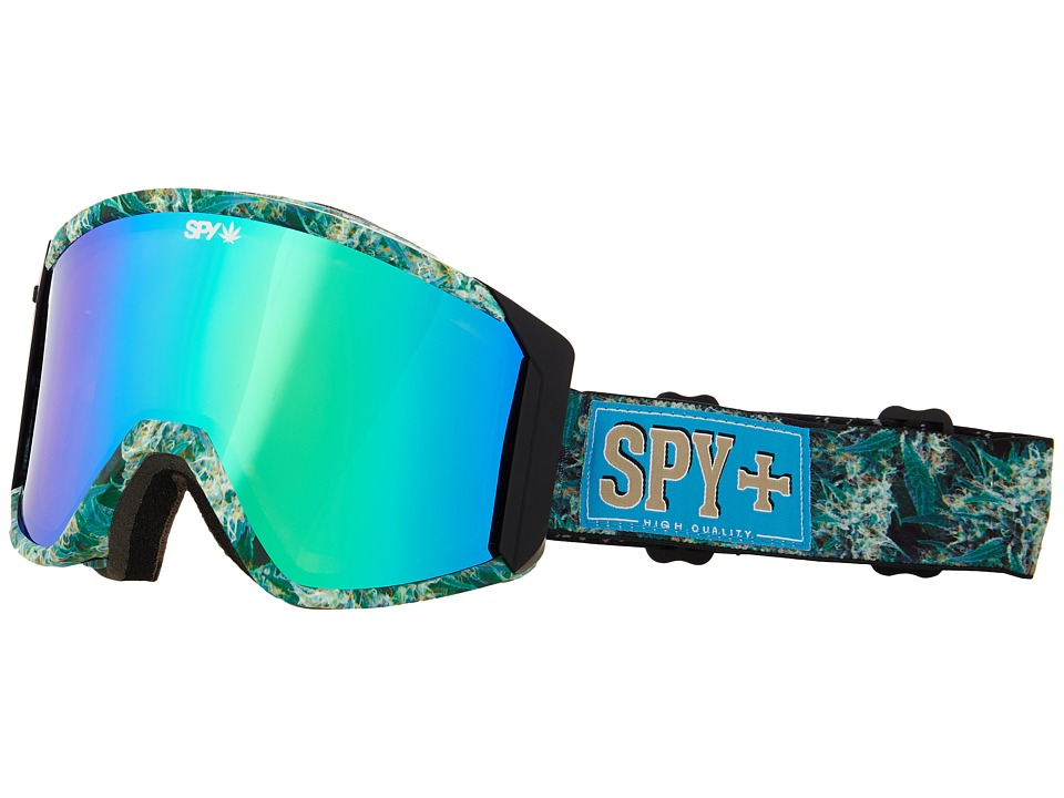 Spy Optic - Raider Smu Field Of Dreams (Bronze/Green Spectra/Blue Contact) Goggles