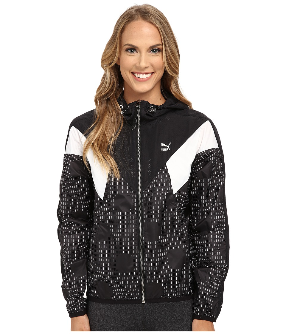 PUMA - Windbreaker Jacket (Black) Women's Clothing