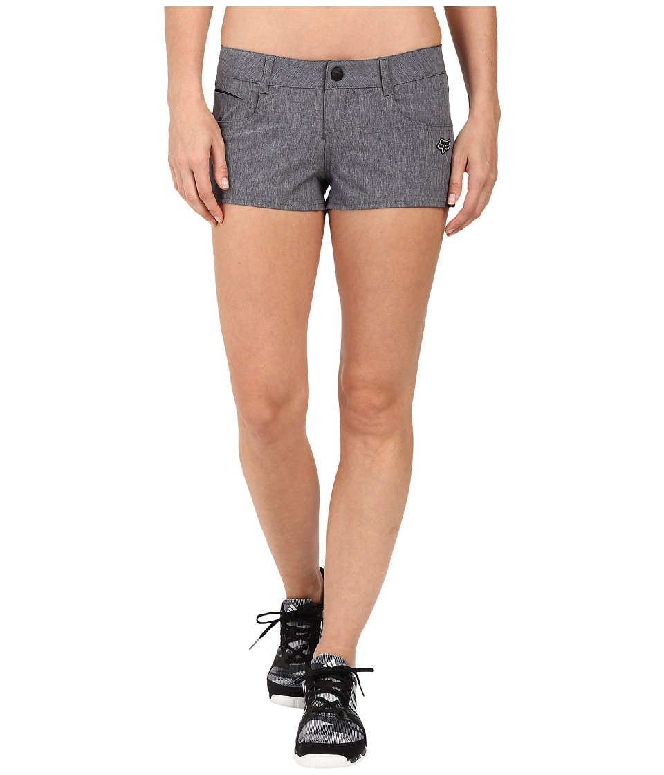 Fox - Motion Tech Shorts (Charcoal Heather) Women's Shorts
