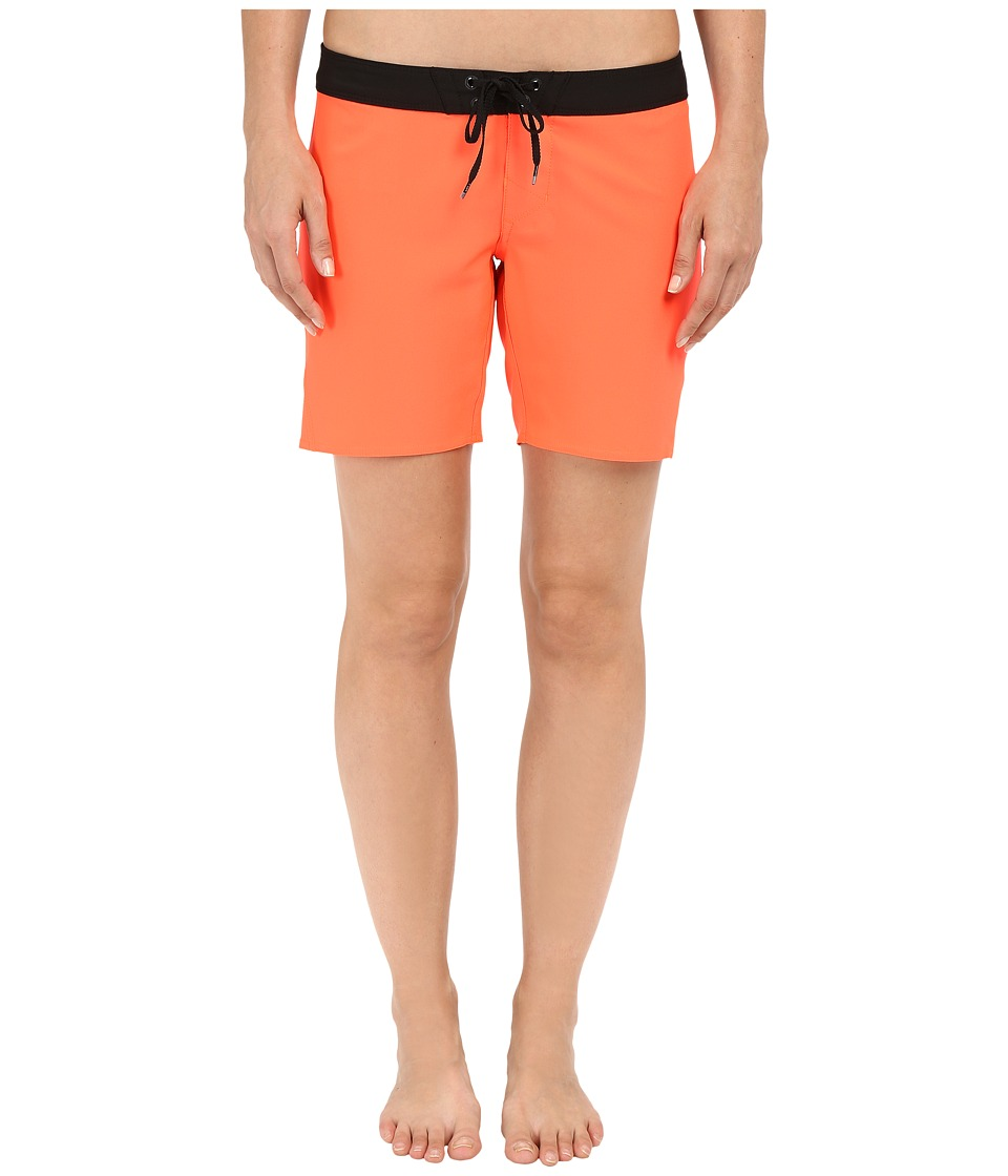 Fox - Chargin Boardshorts (Flo Orange) Women's Swimwear