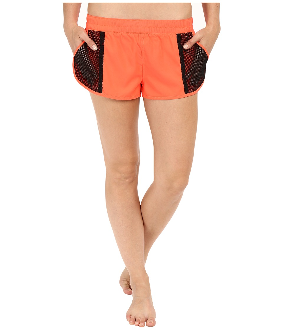 Fox - Vented Boardshorts (Flo Orange) Women's Swimwear