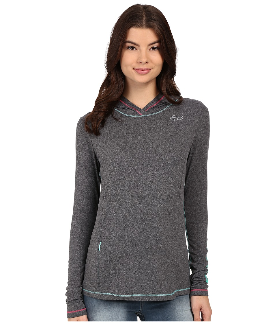 Fox - Descent Tech Hoodie (Light Heather Grey) Women's Sweatshirt