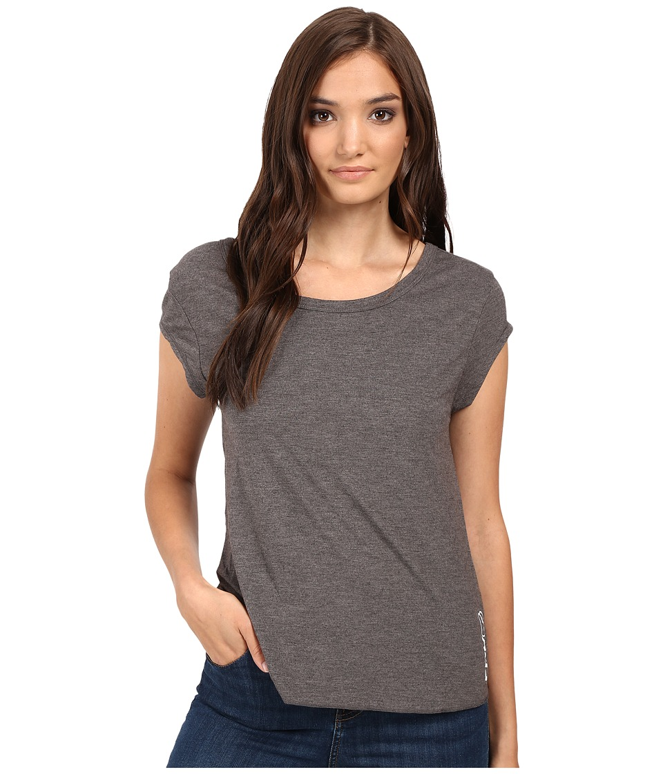 Fox - Tamed Short Sleeve Top (Black) Women's Short Sleeve Pullover