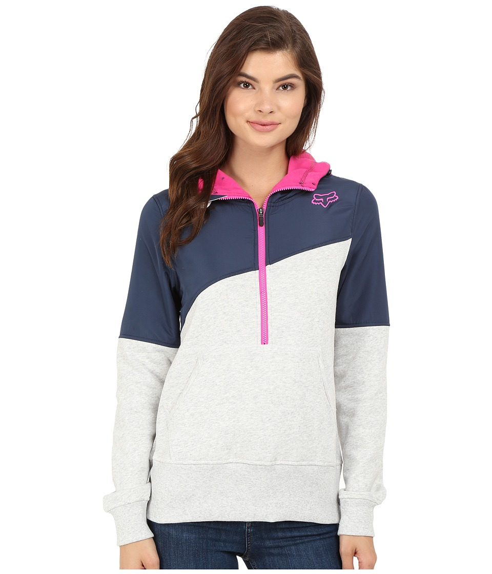 Fox - Conserve Pullover Hoodie (Light Heather Grey) Women's Sweatshirt