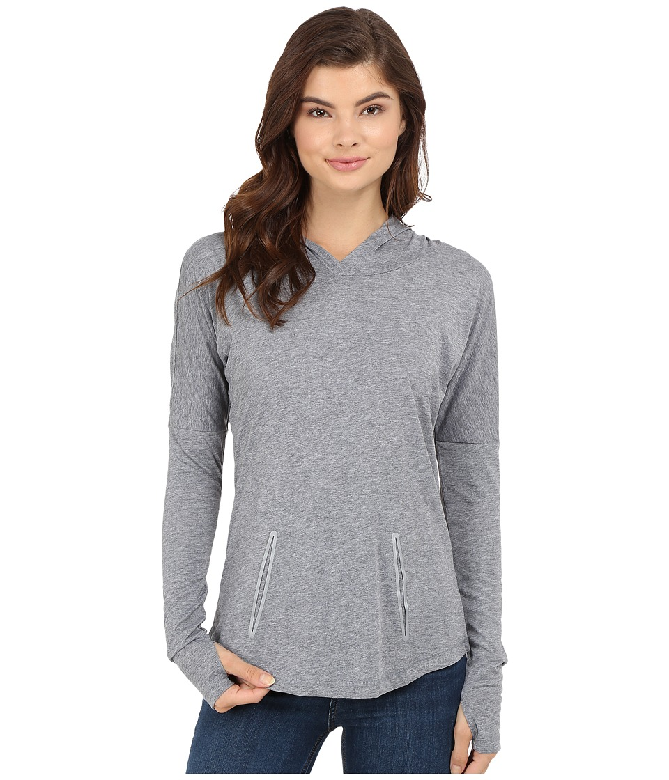 Fox - Tech Hoodie (Heather Graphite) Women's Sweatshirt