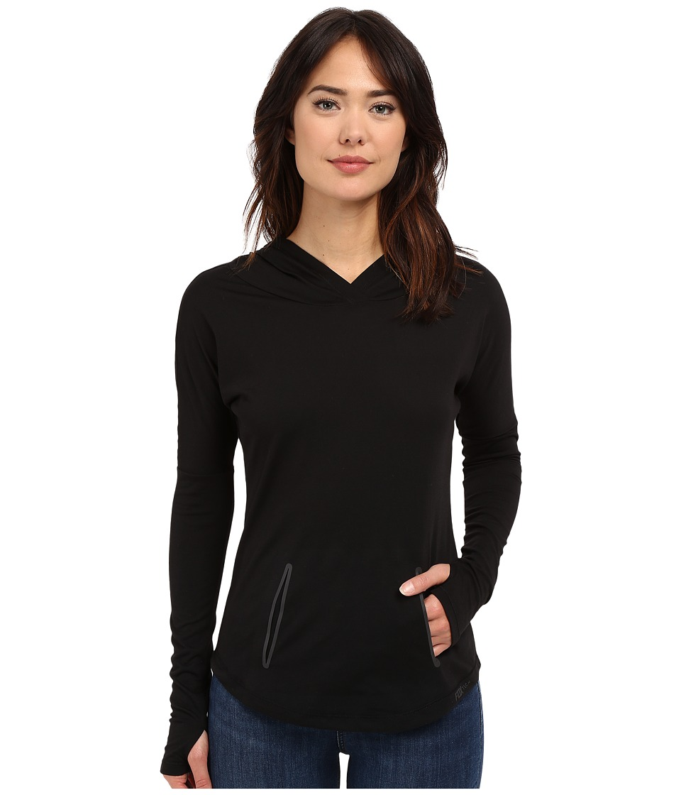 Fox - Tech Hoodie (Black) Women's Sweatshirt