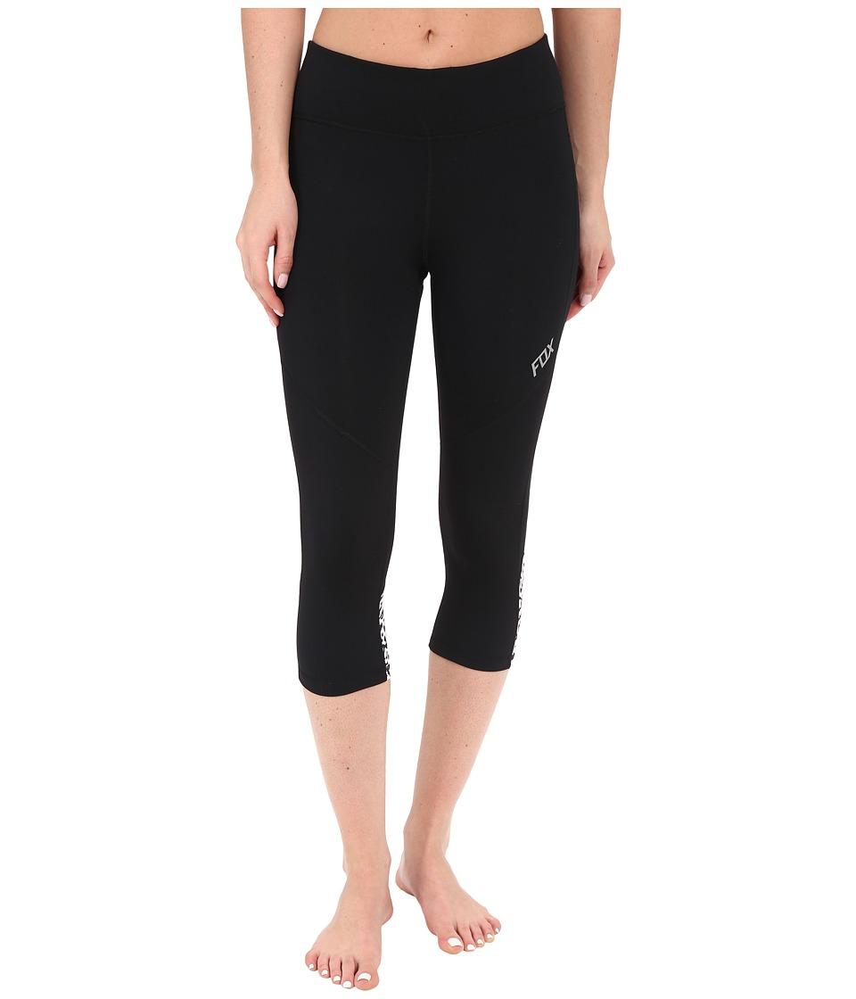 Fox - Speed Leggings (Black) Women's Workout