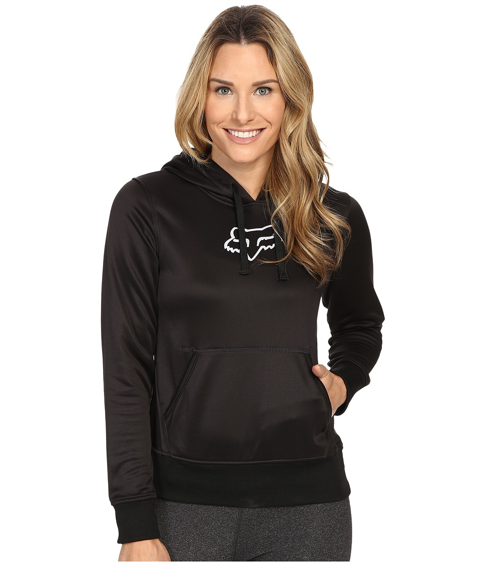 Fox - Surpass Pullover Hoodie (Black) Women's Sweatshirt