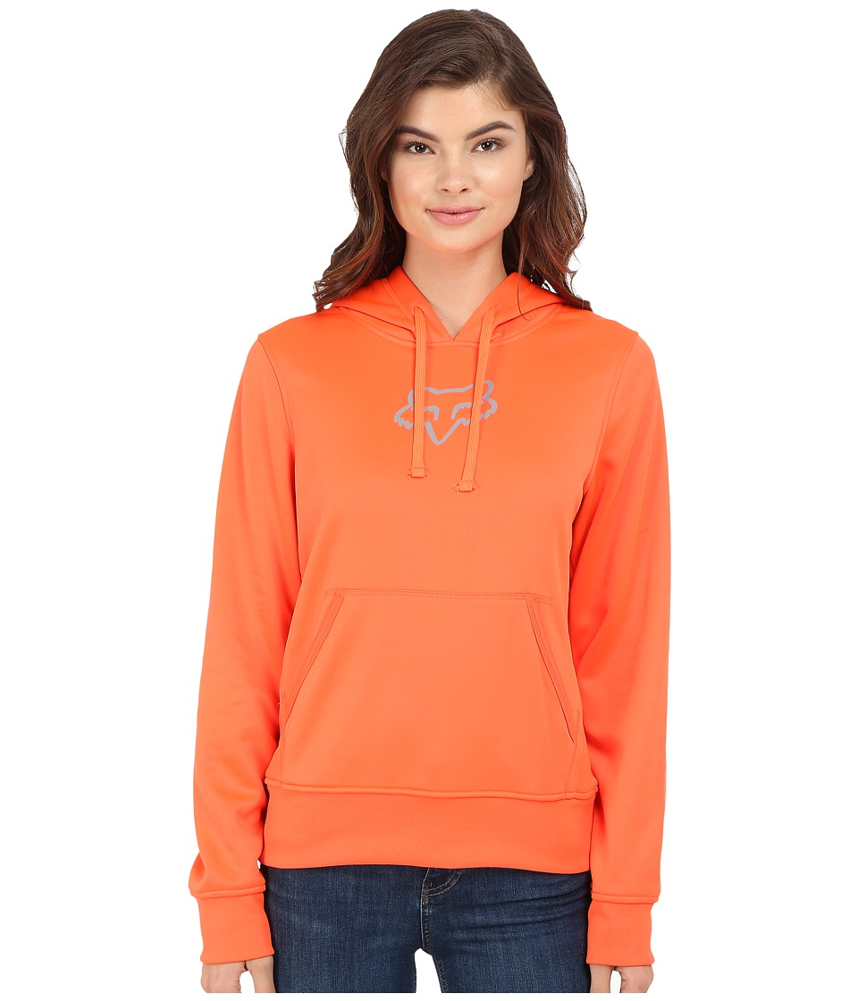 Fox - Surpass Pullover Hoodie (Flo Orange) Women's Sweatshirt