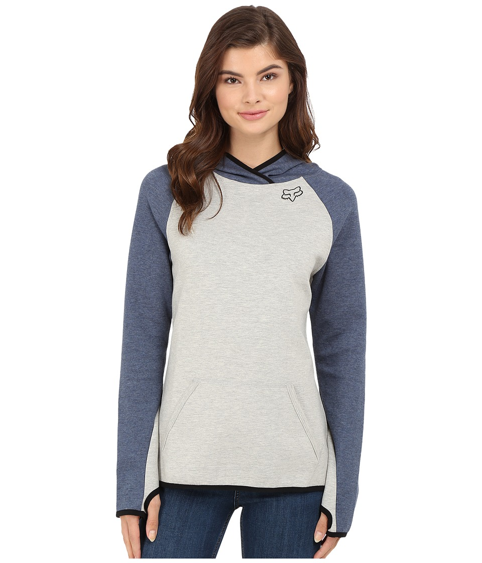 Fox - Persuade Pullover Hoodie (Light Heather Grey) Women's Sweatshirt