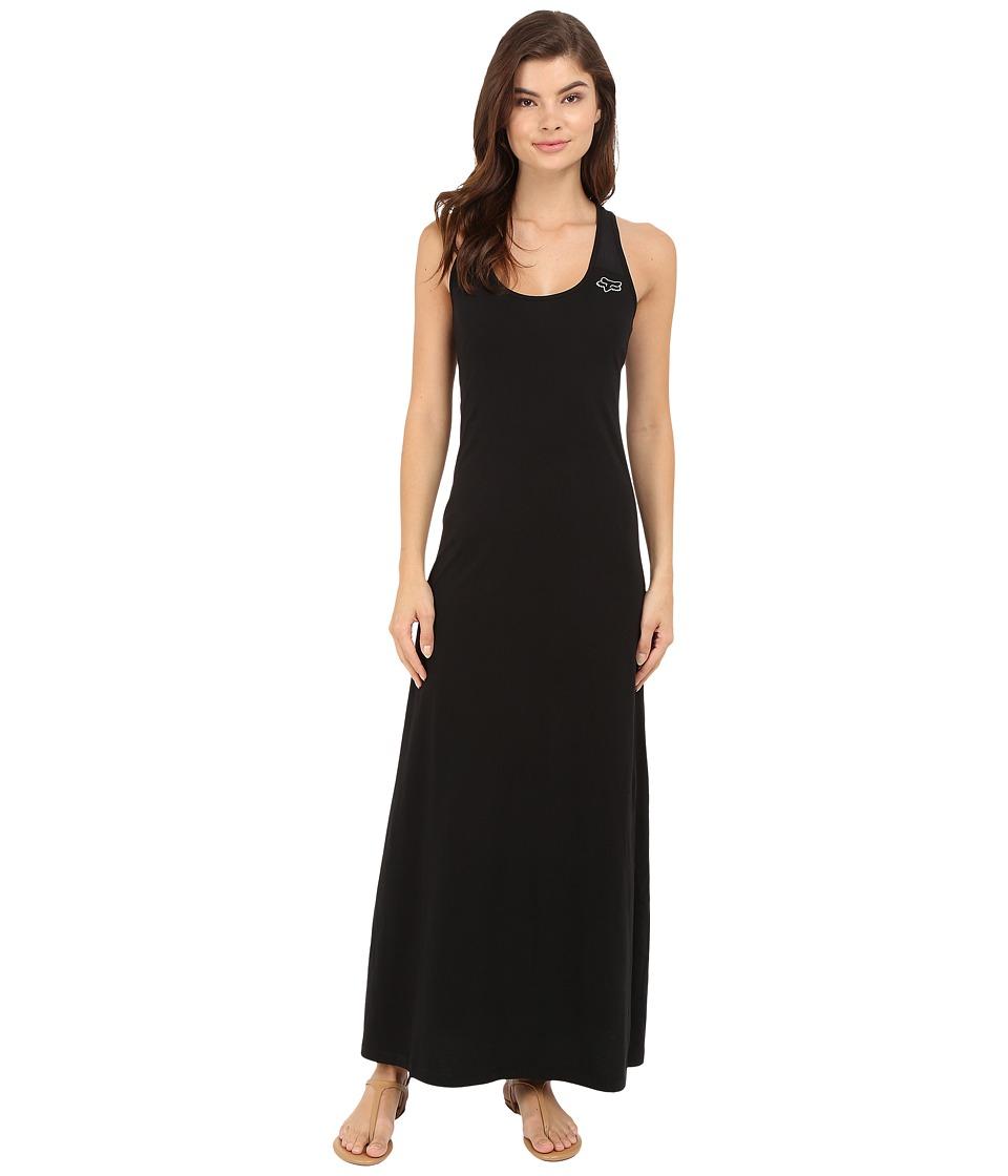 Fox - Screen Maxi Dress (Black) Women's Dress