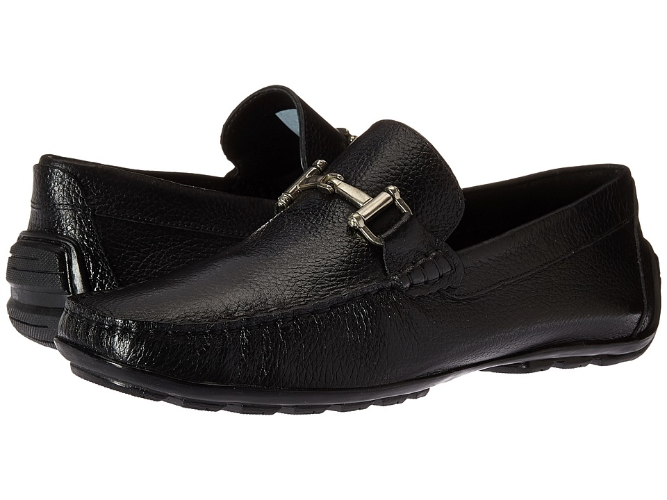 Steve Madden Zorzi (Black Leather) Men
