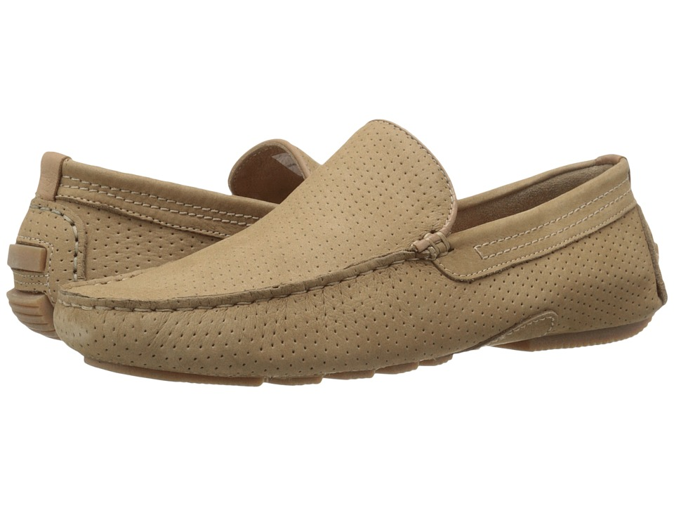 Steve Madden Vaporrr Tan Nubuck Mens Slip on  Shoes