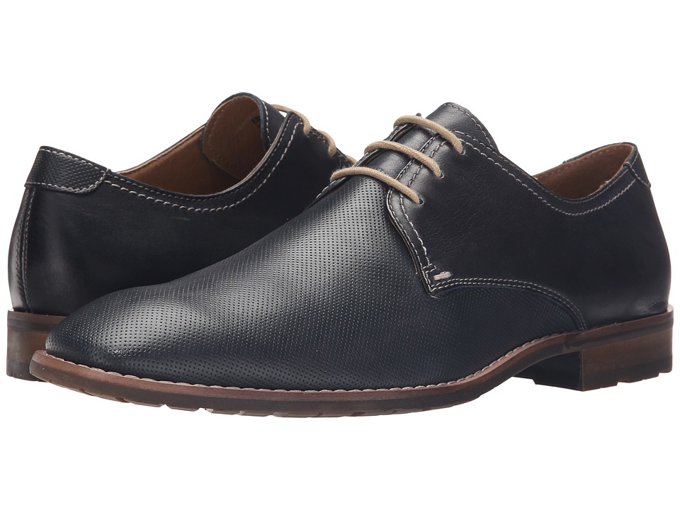Steve Madden - Ebnerr (Navy Leather) Men