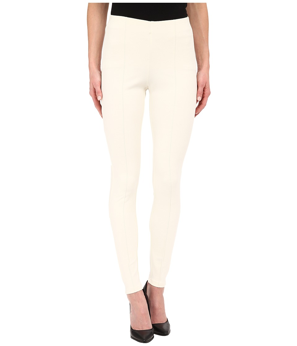 Miraclebody Jeans - Alice Seam Ponte Leggings (Winter White) Women's Casual Pants