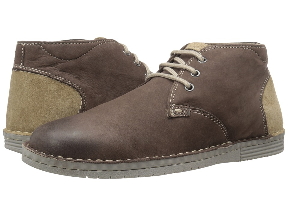 Steve Madden Railerr (Brown Leather) Men