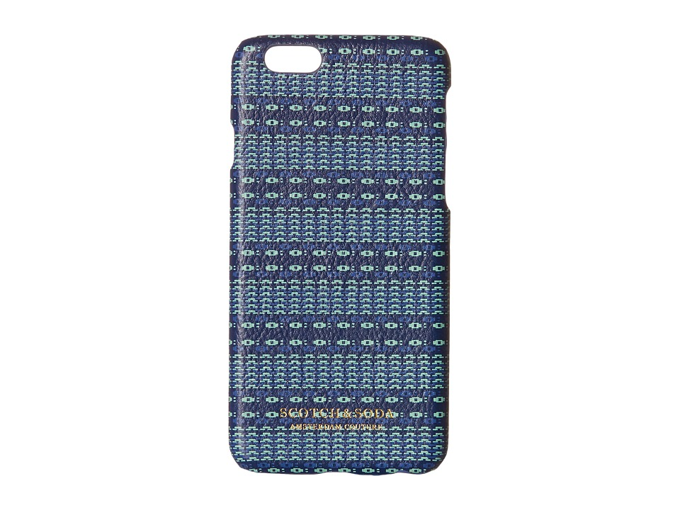 Scotch & Soda - Iphone 6 Case (Blue) Cell Phone Case