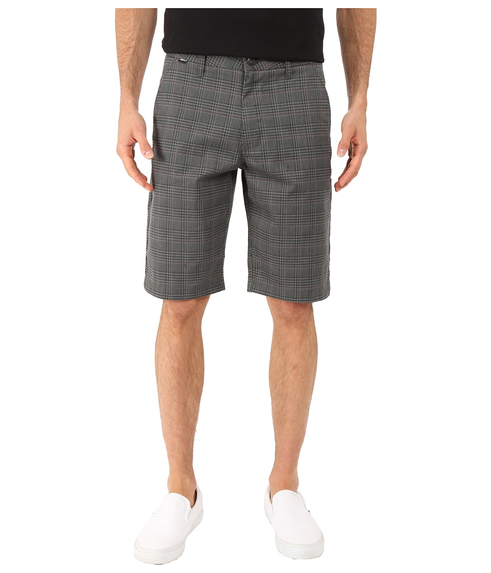 Fox - Essex Plaid Shorts (Heather Graphite) Men's Shorts