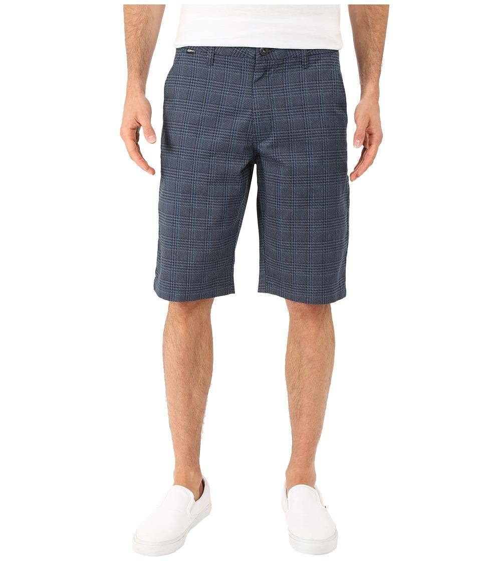 Fox - Essex Plaid Shorts (Sulphur Blue) Men's Shorts