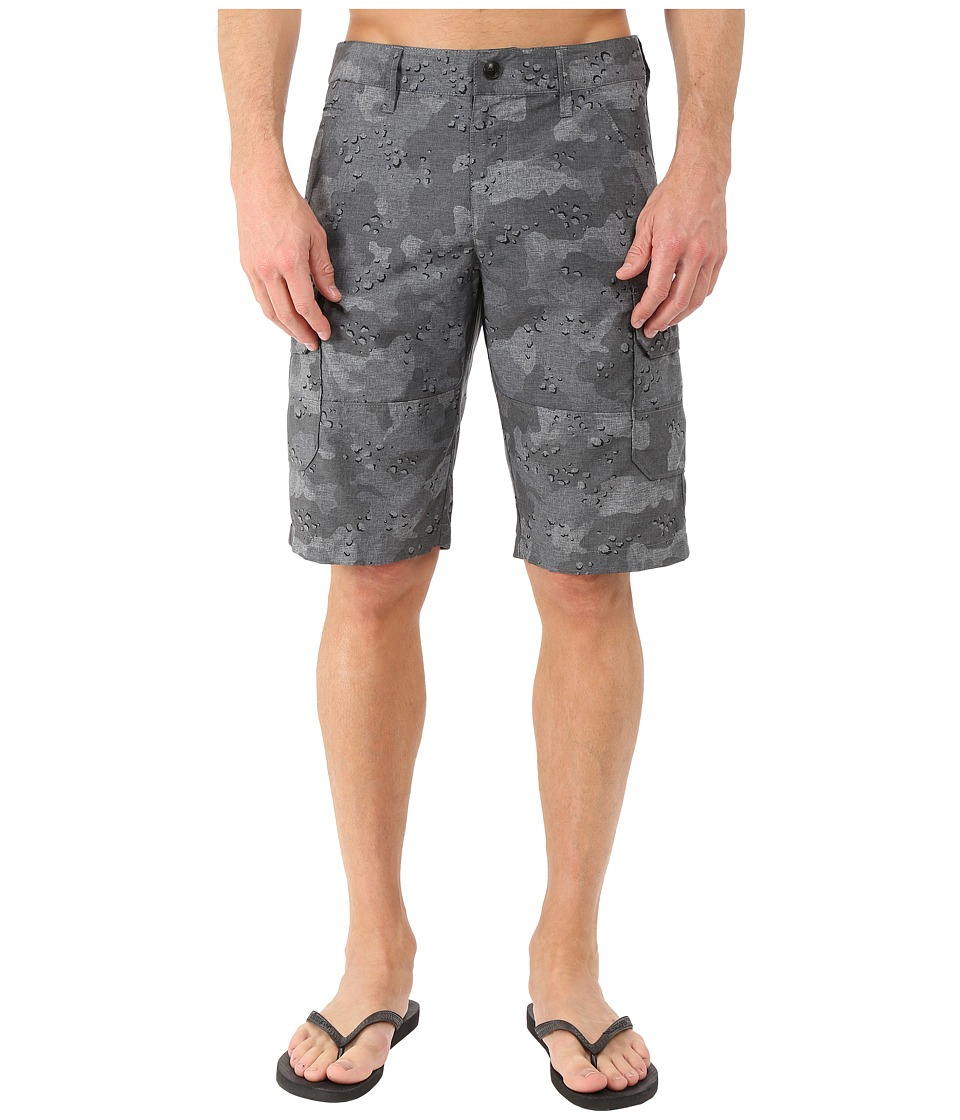 Fox - Slambozo Tech Camo Shorts (Black Camo) Men's Shorts