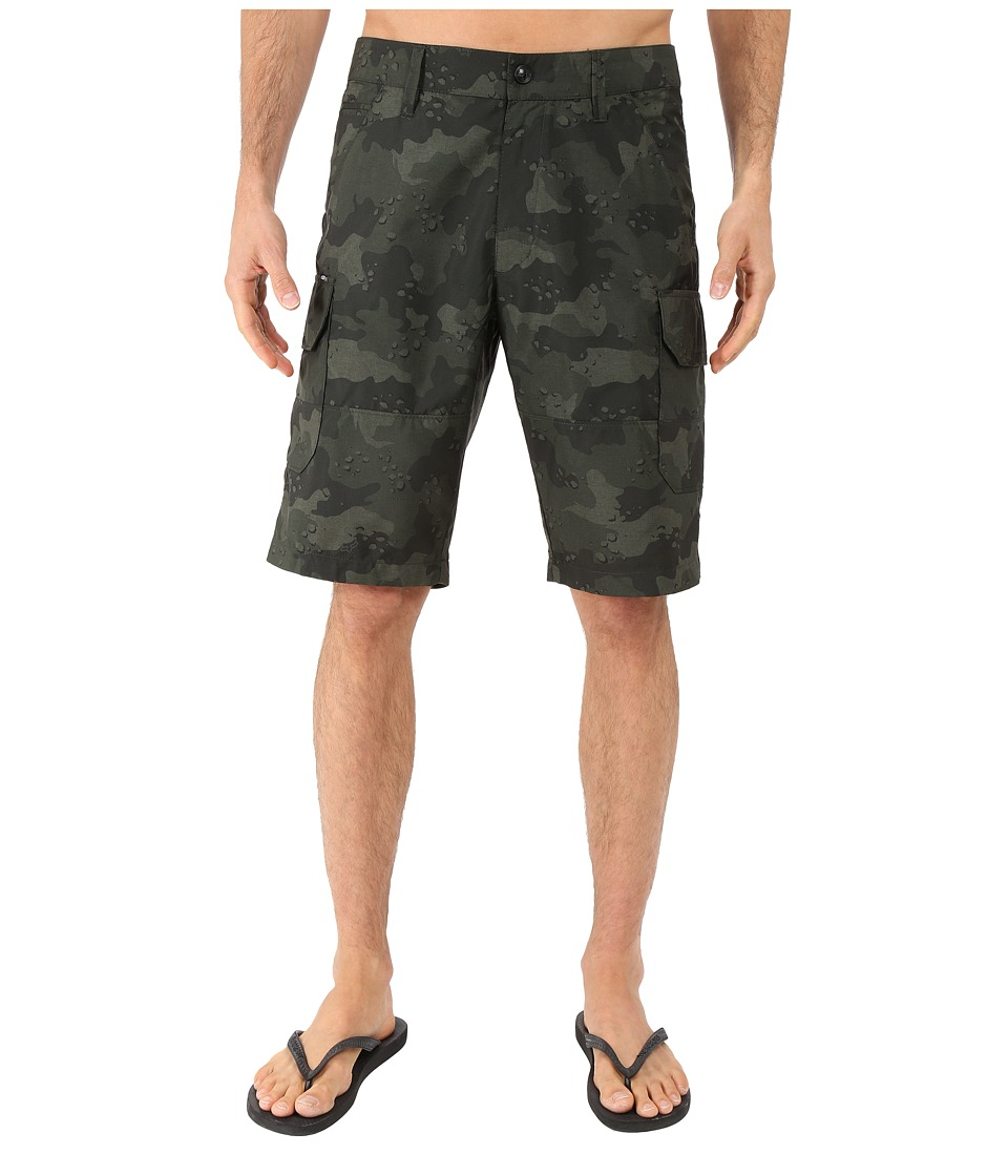 Fox - Slambozo Tech Camo Shorts (Army) Men's Shorts