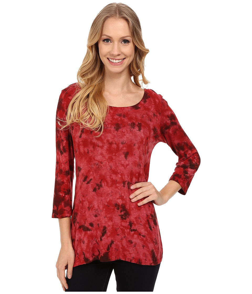 Miraclebody Jeans - BFF Top w/ Body-Shaping Inner Shell (Garnet) Women's Clothing