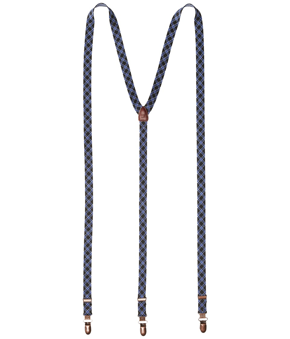 Scotch & Soda - Suspender (Black/Blue) Men's Belts