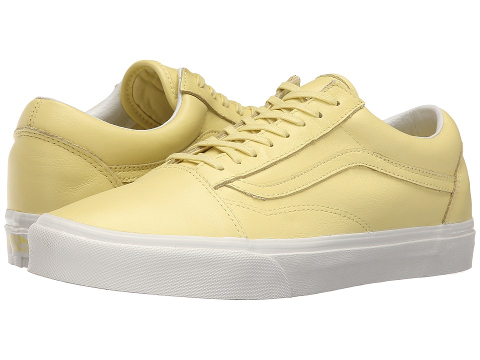 Vans - Old Skool ((Pastel Pack) Yellow Cream/Blanc de Blanc) Skate Shoes