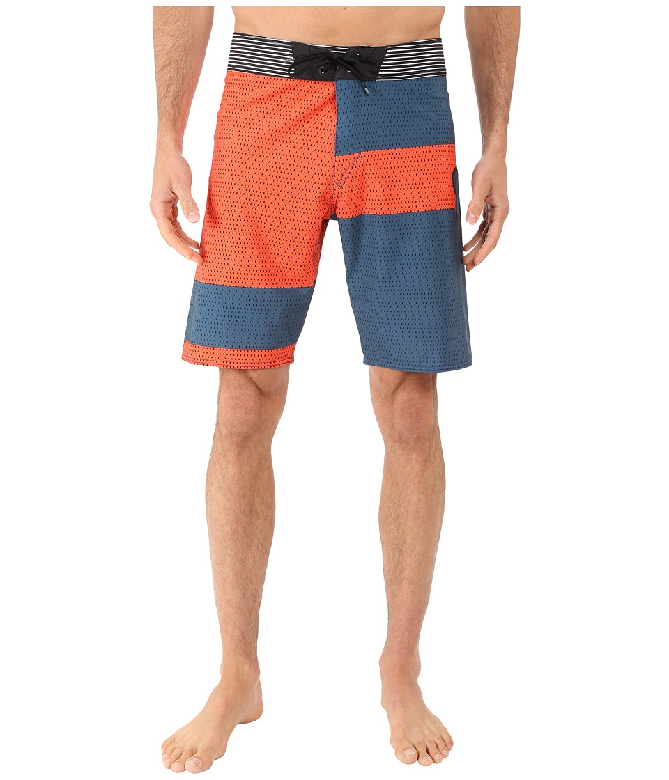 Fox - Meshed Up Boardshorts (Flo Orange) Men's Swimwear