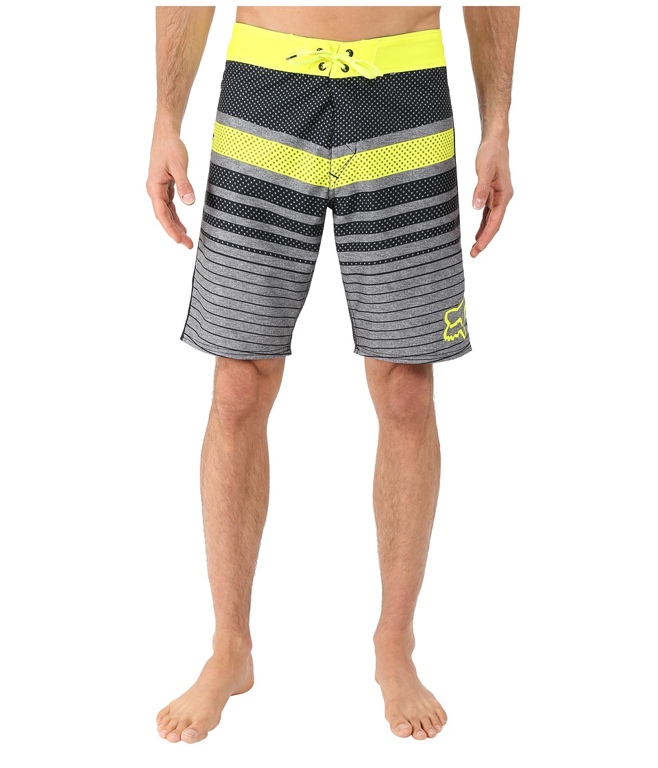 Fox - Double Down Boardshorts (Flo Yellow) Men's Swimwear
