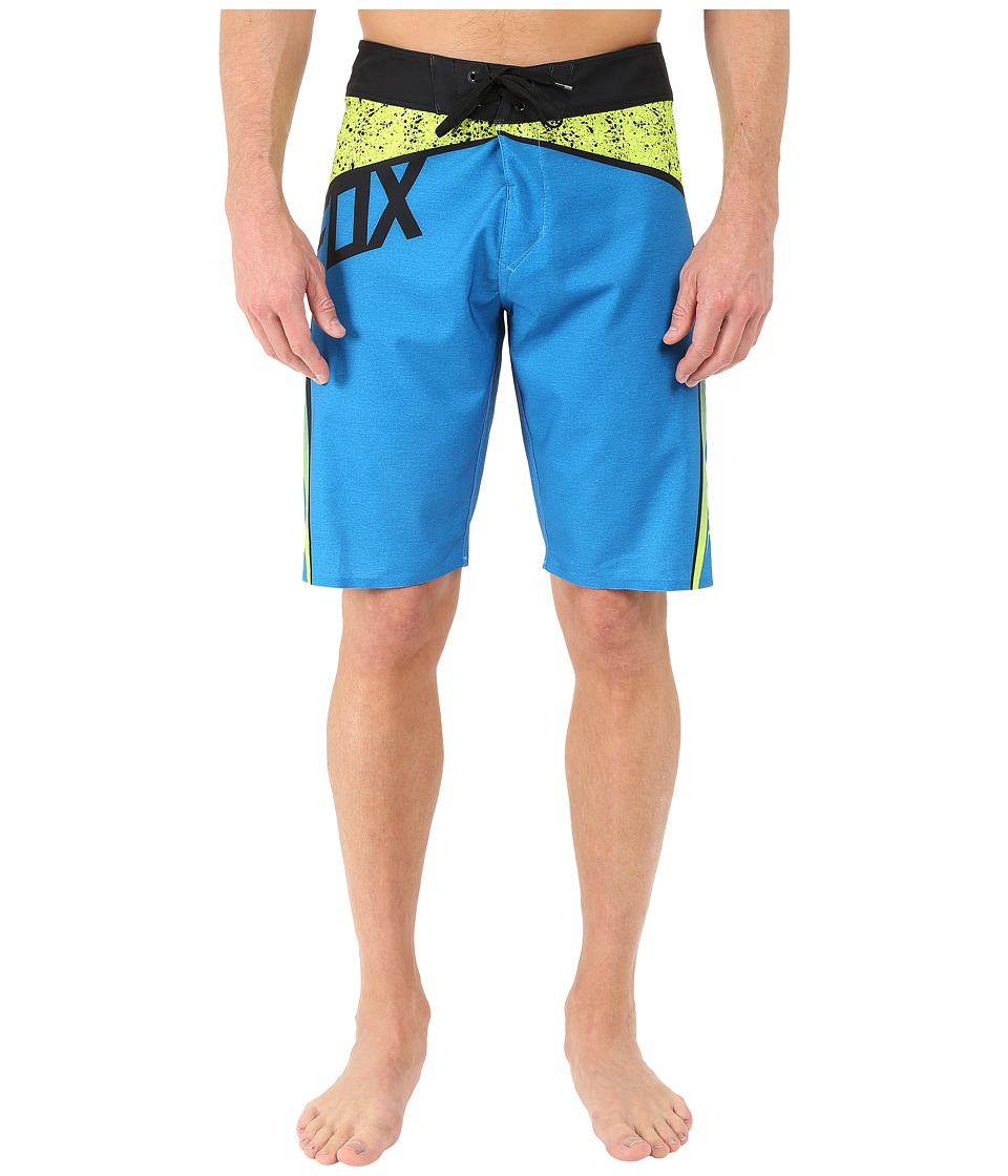 Fox - Vert Boardshorts (Electric Blue) Men's Swimwear