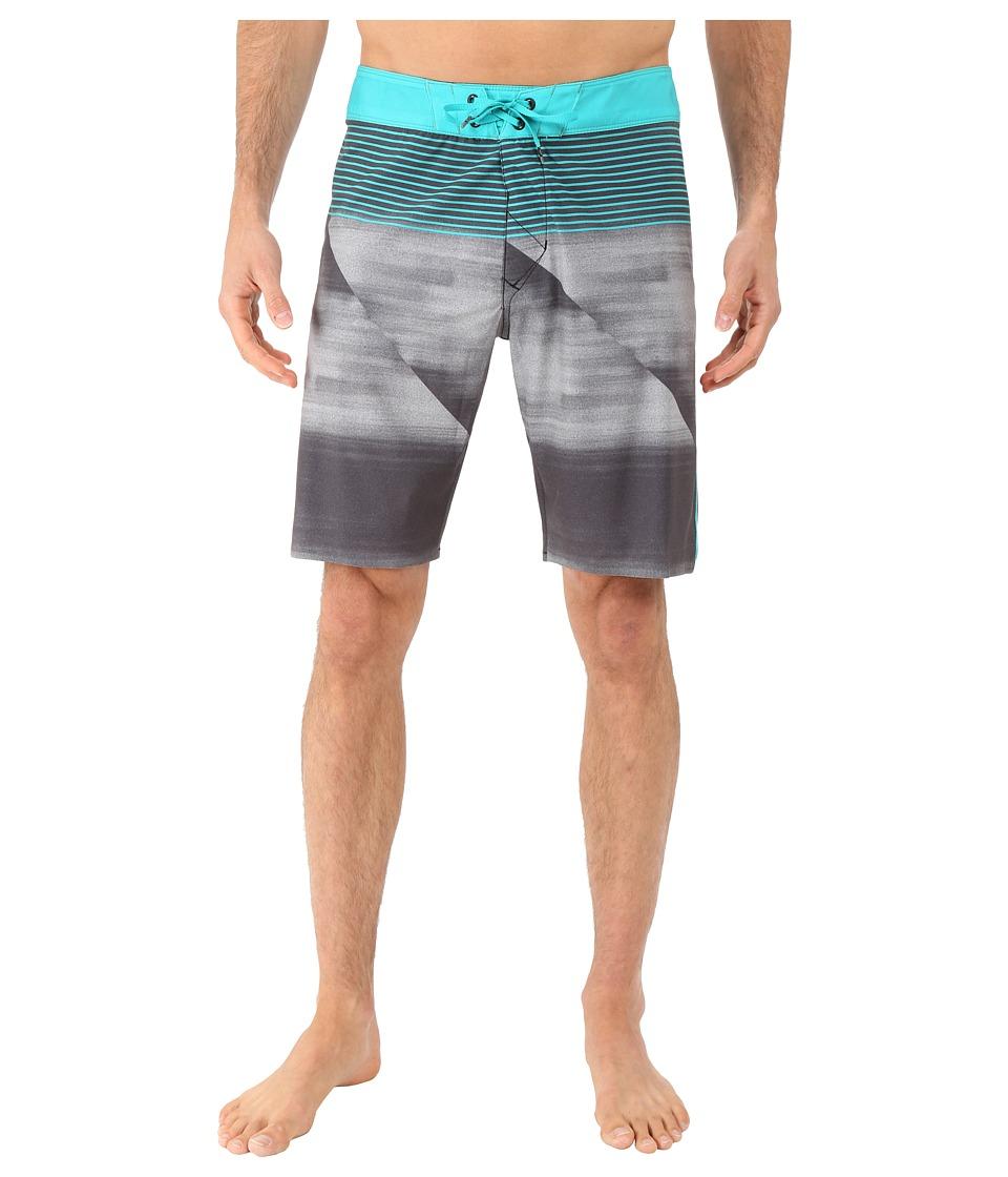 Fox - Speedfader Boardshorts Ian Signature (Teal) Men's Swimwear