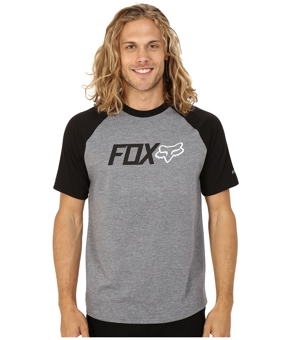 Fox - Warmup Short Sleeve Tech Tee (Heather Graphite) Men's T Shirt