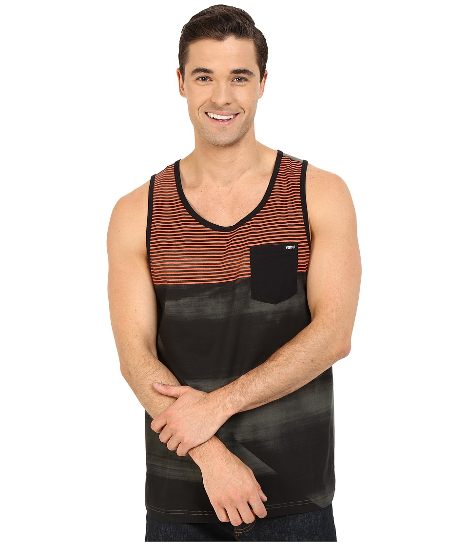 Fox - Speedfader Tank Top (Military) Men's Sleeveless